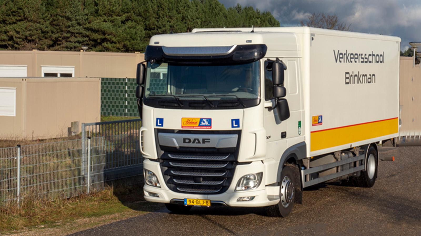 Verkeersschool Brinkman vrachtauto